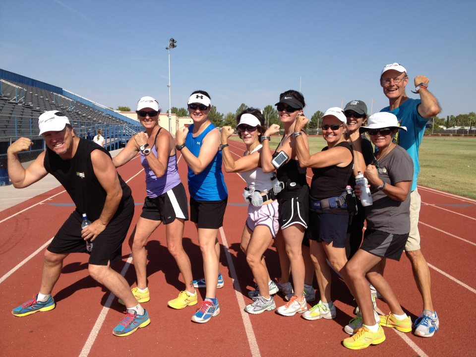 Natural Running Drills on the Track