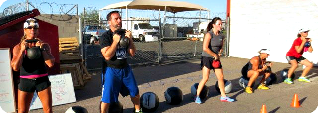 Kettlebell training Mesa AZ