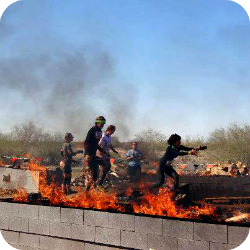 Tough Mudder Fire Run