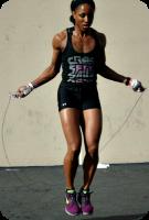 Jump rope posture