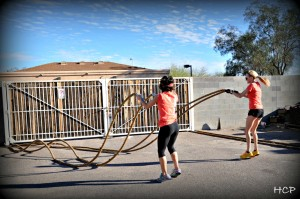 Muscle Roping Workout